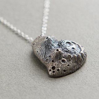 Lonely Planet pendant /Sterling Silver pendant