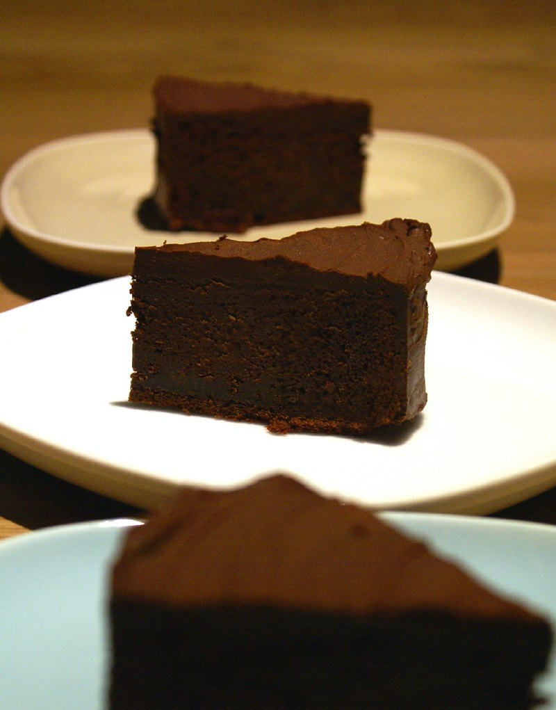 [. Cheese & Chocolate] custom - sweet and greasy chocolate cake / 8 ""