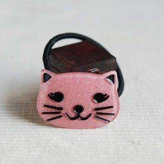 Powder, Bright Cat, Hair Ties, Hair Rings, Hair Accessories