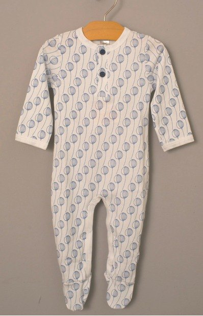 US organic cotton male baby clothes - Get matching hat