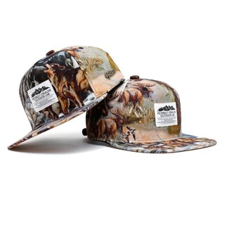 Filter017 -棒球帽 - Wild Animal Snapback Cap - North American Wildlife 野生動物後扣式棒球帽-北美動物