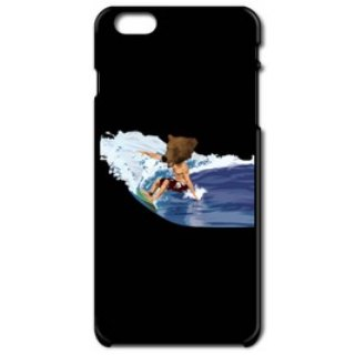 BEAR SURFING(iPhone6 black case)