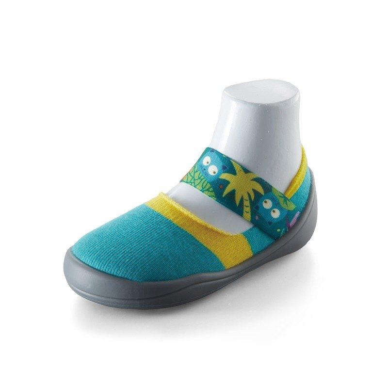 feebees學步鞋/襪鞋/室內外皆可穿 - 歡樂派/熱帶叢林