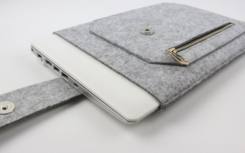 Customized Apple Case Cover Felt Case Laptop Bag Macbook 12吋007L