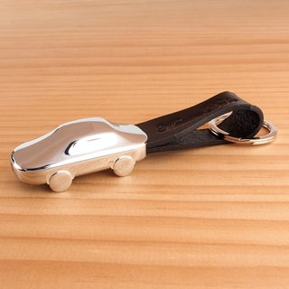 Martin Duke LED Leather Key Chain Car Black
