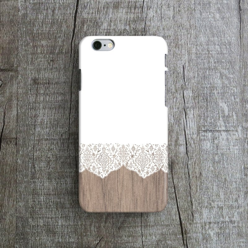 Romantic Lace- Designer iPhone Case. Pattern iPhone Case. One Little Forest