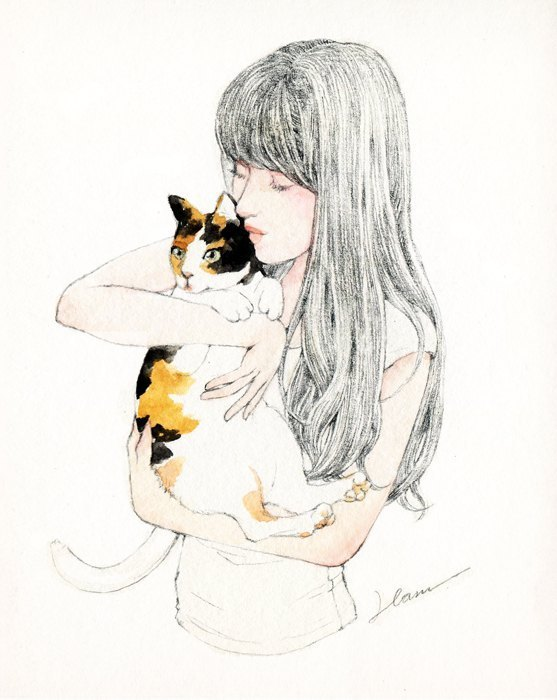Atelier Hanu / Girls & Cats