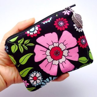 Zipper pouch / coin purse (padded) (ZS-36)