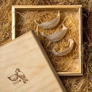 Exquisite dry bird's nest Mid-Autumn wood gift box 50g Pure natural top Chinese business elders popular favorite