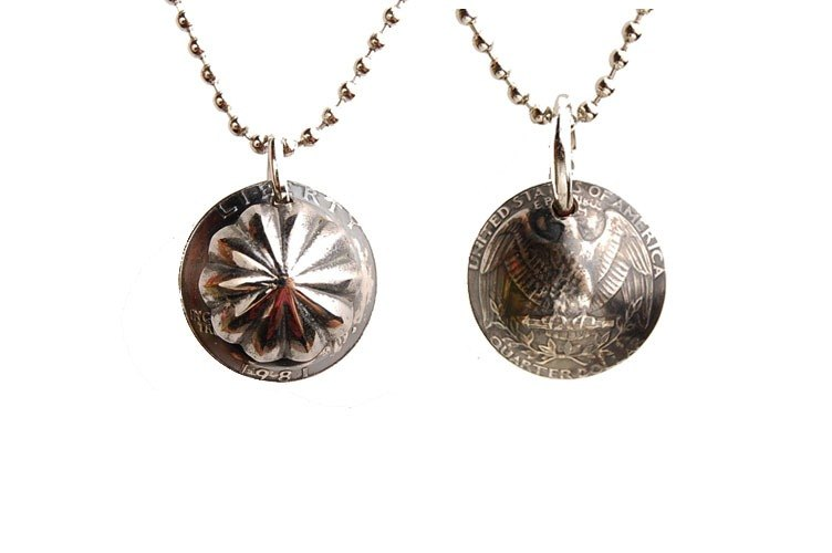 Shell Coin Necklace - 銀貝硬幣項鍊