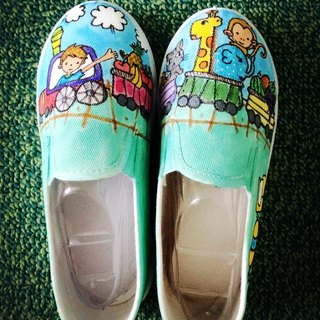 Hand-painted shoes [was] my favorite の