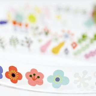 & Cabinet Decoration Tape - Flower
