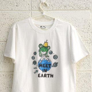 [Valentine's Day Gift] [Meet in earth] - Couples / Short Sleeve T-shirt (Big Boy)