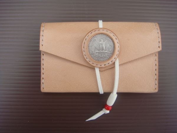 ISSIS - US 25-point eagle coin strap business card holder