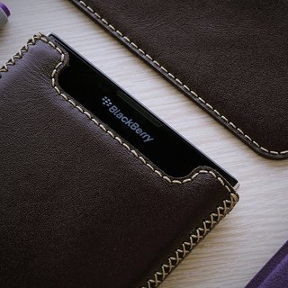 BlackBerry Passport saving upright cowhide leather