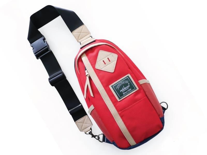火柴木設計 Matchwood Hunter 單肩後背包 側背包 斜背包 胸前包 紅色款