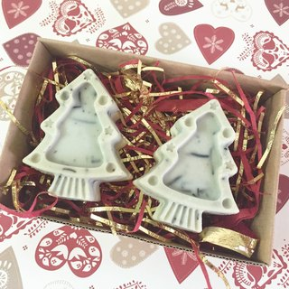 ♥ Christmas tree to exchange gifts hand soap rosemary limited group ♥