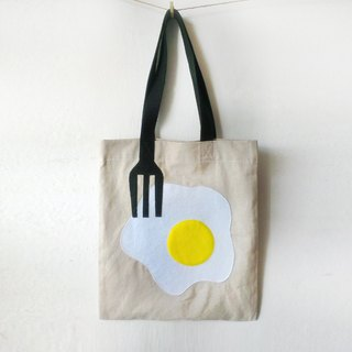 Breakfast Tote Bag: Egg