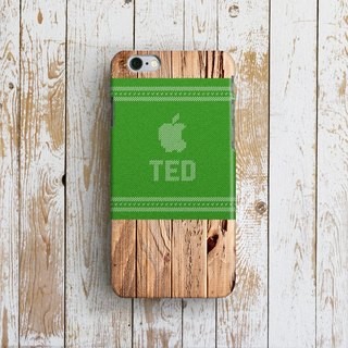 Personalized, Apple Woody Wooly - Designer iPhone Case. Pattern iPhone Case.