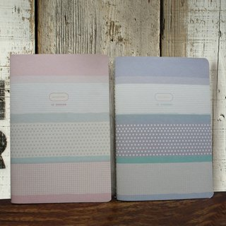 NOTEBOOK CHECKERED-PINK