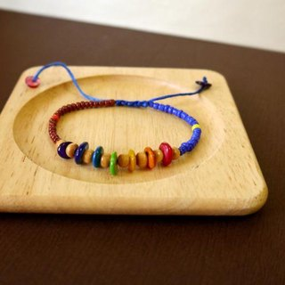 Light you up rainbow circle children Bracelets