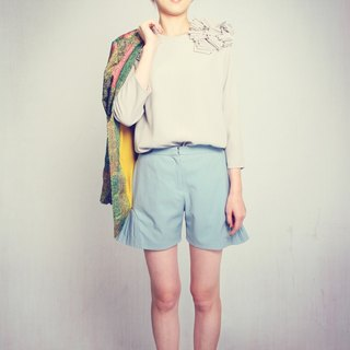 Bir-Hakeim Pleated Shorts