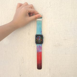 Apple Watch Series 1 , Series 2, Series 3 - Abstract Paint Watch Strap Band for Apple Watch / Apple Watch Sport - 38 mm / 42 mm avilable