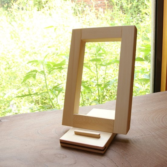 Wooden iPad Holder