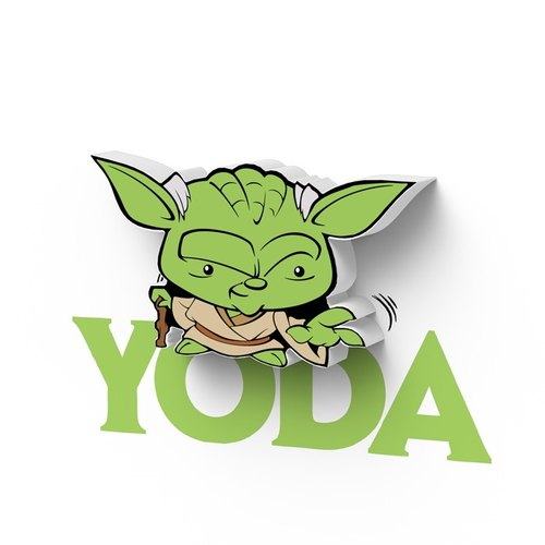 3D Light FX - Star Wars EP7 Mini Series Yoda