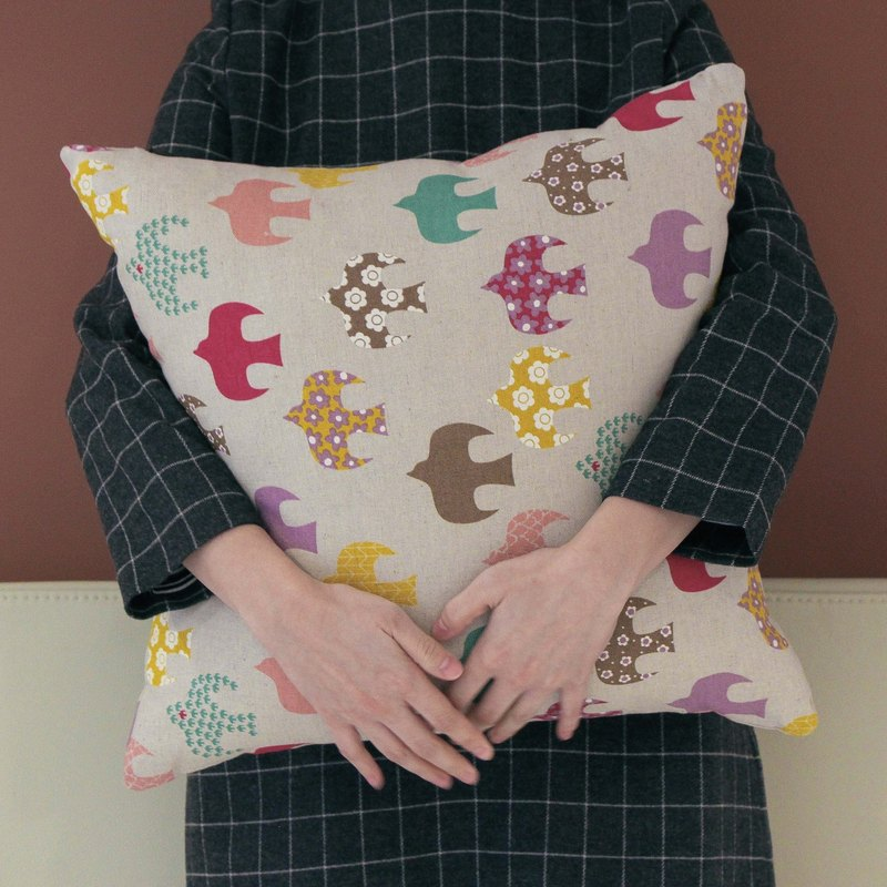 · Eyebrows · Niao geometry home pillow cover