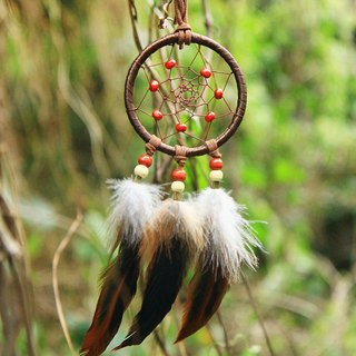 ESCA • DreamCatcher handmade Dreamcatcher - necklace (Brown)