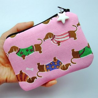 Zipper pouch / coin purse (padded) (ZS-45)