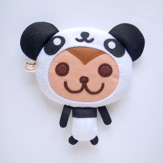 boboSARU Bobo Panda monkey zipper bag models