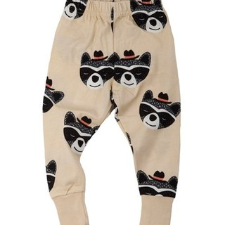 2015 spring and summer full version of Q koolabah organic cotton baby raccoons legging