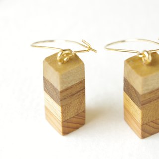 border earring(yellow)