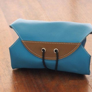 HIPSIONG leather camera lens cloth -Ray big (blue)