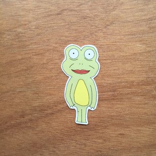 CHEAP frog (Rana cheap) systemic Stickers