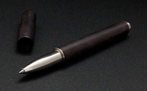 RETRO Wood Series Writing Touch Dual Pen - Rosewood