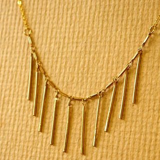 Light you up to go straight Necklace