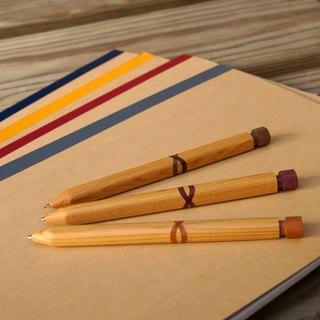 Cypress wood pencil (mechanical pencil)