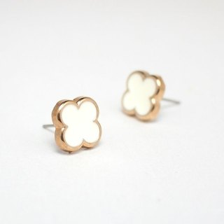 Circle dot Stainless Steel Ear Studs Earrings 003