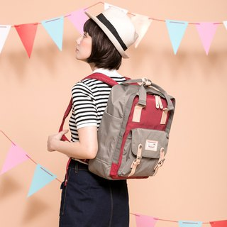 Doughnut Waterproof Macaron Backpack - Earl Grey