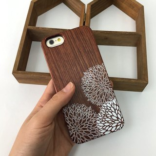 Dandelions Real Wood iPhone Case for iPhone 6/6S, iPhone 6/6S Plus, Samsung Galaxy S5, S4, case