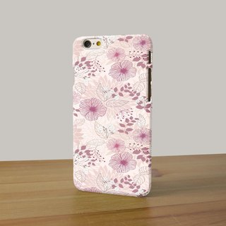 Flower pattern soft pink 16 3D Full Wrap Phone Case, available for  iPhone 7, iPhone 7 Plus, iPhone 6s, iPhone 6s Plus, iPhone 5/5s, iPhone 5c, iPhone 4/4s, Samsung Galaxy S7, S7 Edge, S6 Edge Plus, S6, S6 Edge, S5 S4 S3  Samsung Galaxy Note 5, Note 4, Not