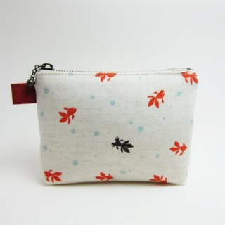 Little goldfish purse