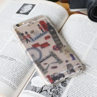 iPhone Case / Soft Shell / London / Gift