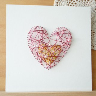 Super feel Aluminum Pop-up Card - Happy Valentine's Day custom King soulmate