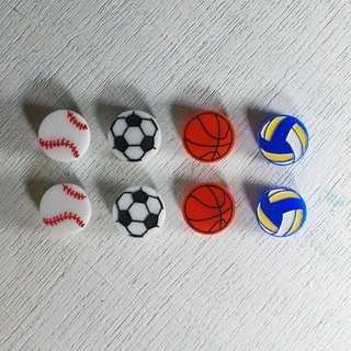 Ball earrings / volleyball / football / baseball / basketball