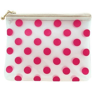 [Japanese] Neige LABCLIP Series pouch (small - zip) / pink