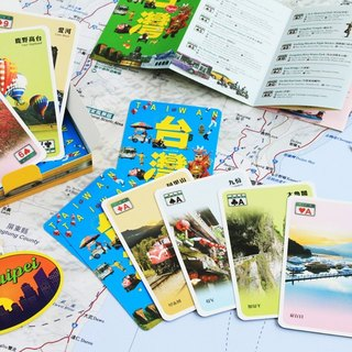 Taiwan Scenery Playing Cards